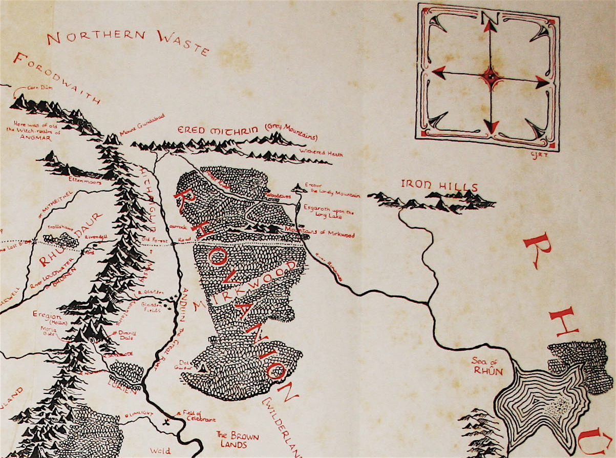 Thorins memories of the Erebor of his childhood  Of Thorin
