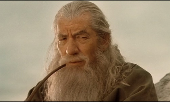 Gandalf thinking about the project