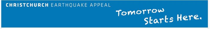 Christchurch Earthquake Appeal