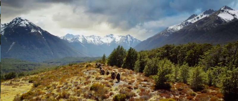 Scene from Hobbit