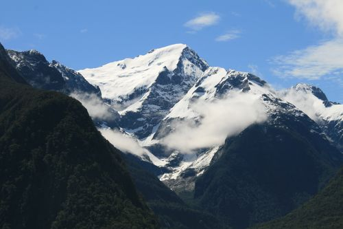 NZ mountain - Milford