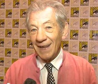 Ian McKellen in interview