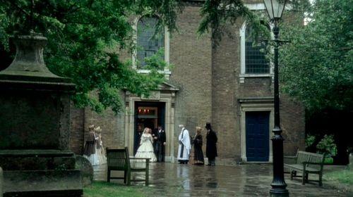 Church fanny's wedding