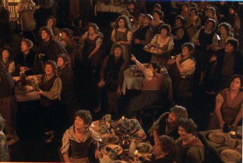 Bilbo's party