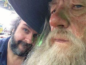 Sir Ian + PJ