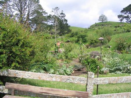 Garden at Hobbiton