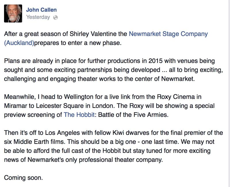 John Callen FB