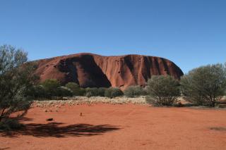 View of Uluru 1